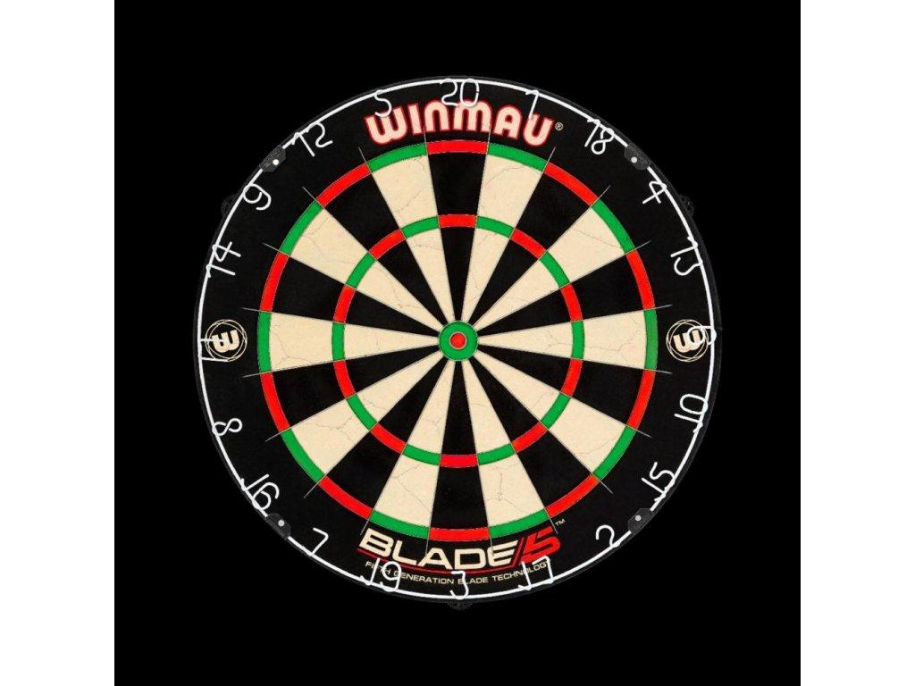Sisalový terč WINMAU BLADE 5, turnajová kvalita
