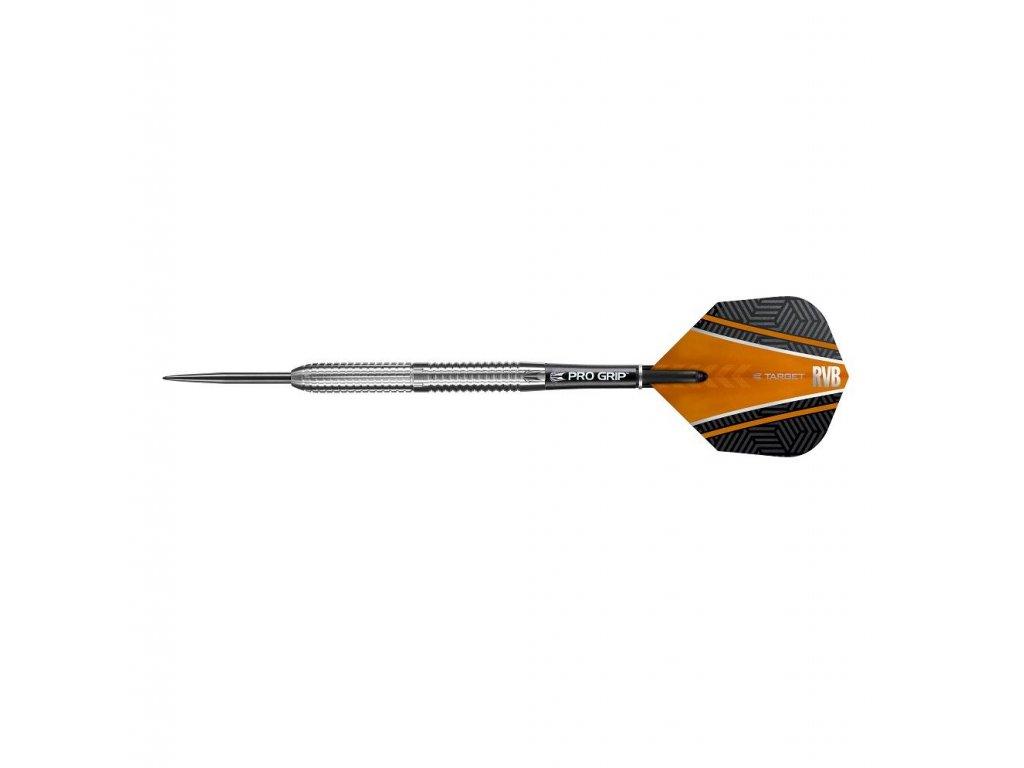 Šipky Target steel 26g Raymond van Barneveld 90% wolfram RVB