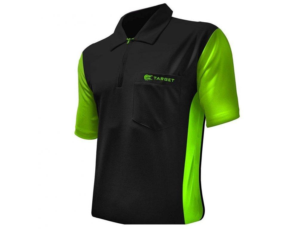 Dres TARGET Coolplay Hybrid 3 čierne/zelené, veľkosť 3XL