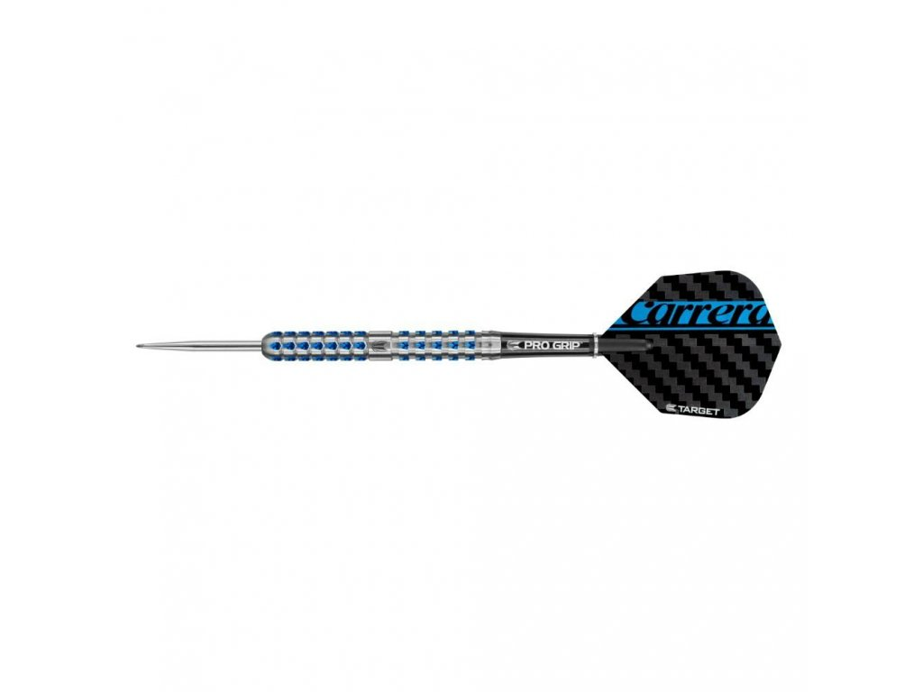 Šipky TARGET steel Carrera Azzurri AZ03 24g, 90% wolfram