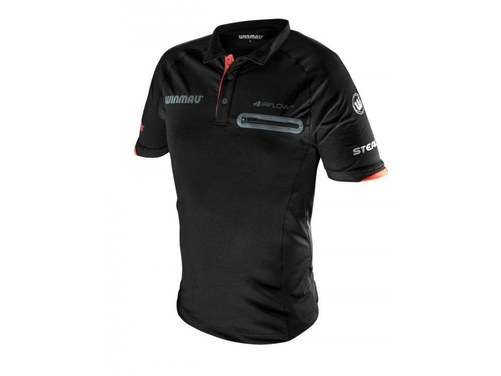 Dres Winmau Pro-Line, čierny XL