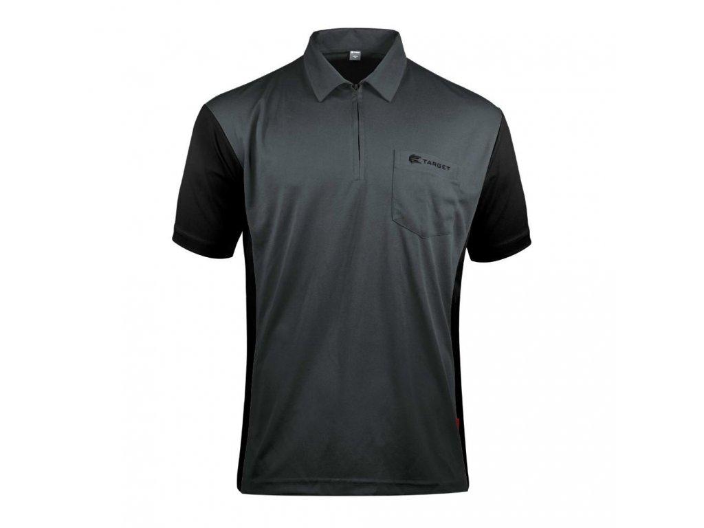 Dres TARGET Coolplay Hybrid 3, šedý, černý velikost L