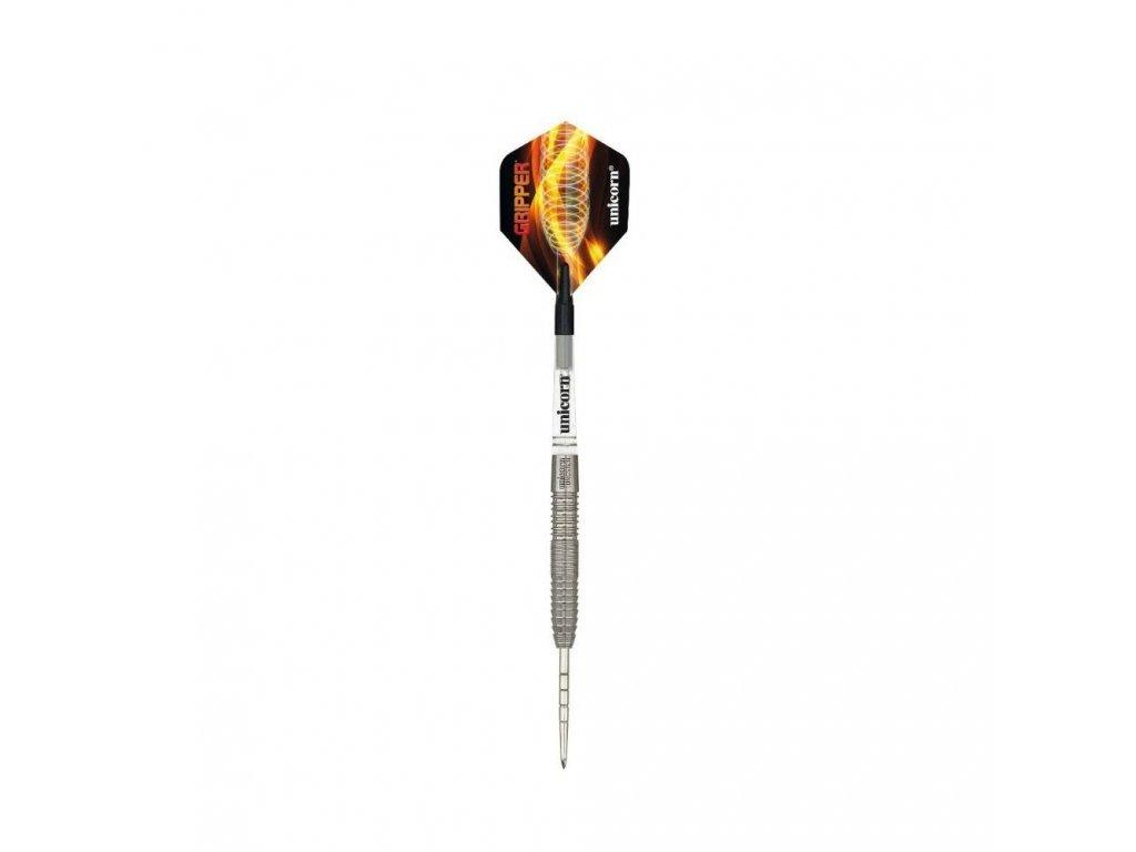 Šipky Unicorn steel Gripper 6 24g, 90% wolfram