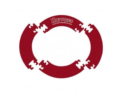 Ochrana k terčům Harrows 4 dílny, červená