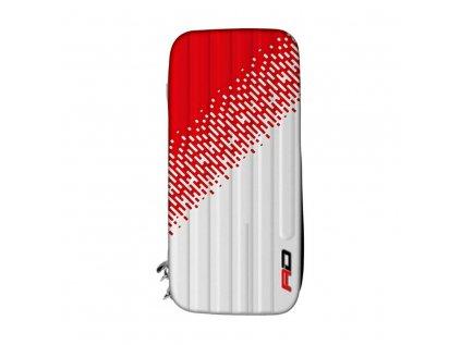 Pouzdro na šipky RedDragon Monza, červeno - bílé
