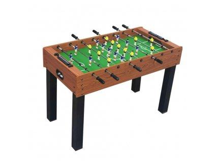 Stolní fotbal E-LAND Hattrick 4ft pro děti, hnědý, teleskopické tyče