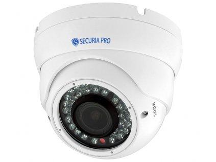 3683 securia pro ip kamera 5mp poe 2 8 12mm dome n369lz 500w w