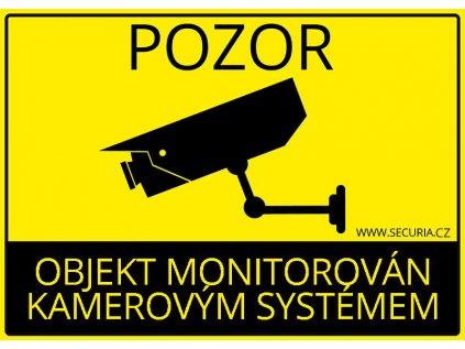 objekt monitorovan kamerovym systemem