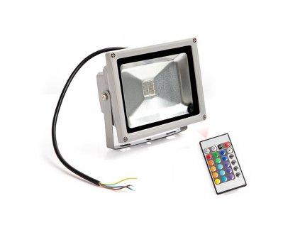 Ledia RGB Led reflektor 20W + dálkové
