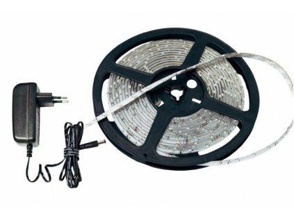 Ledia LED pás studená bílá 5m, SMD 5050, 30LED/m + zdroj
