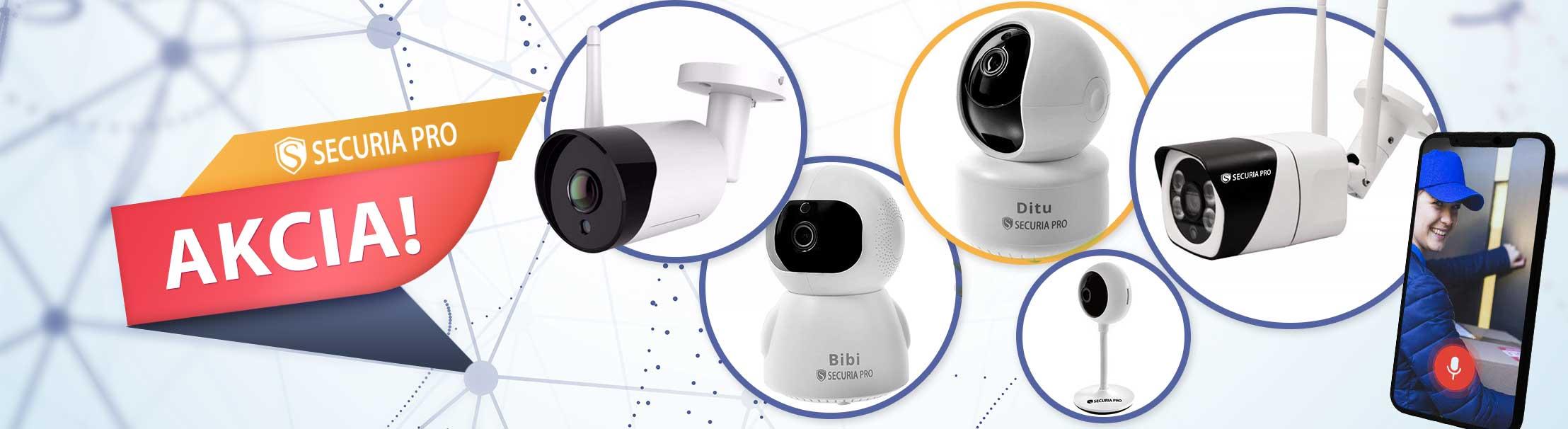 Akcia WiFi IP kamery