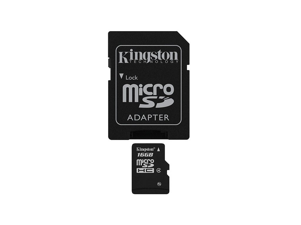 Pamäťová karta Kingston Canvas Select Plus A1 16GB microSDXC, Class 10, 100MB/s, s adaptér