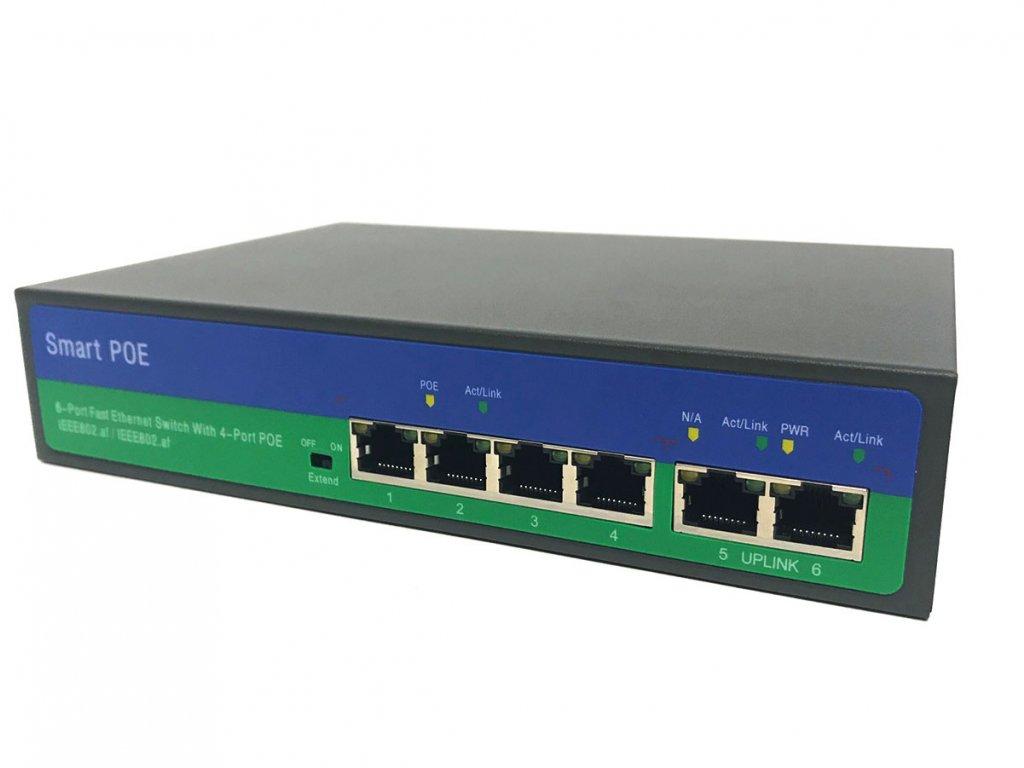 44159 securia pro poe switch 4ch 2ch n2042p