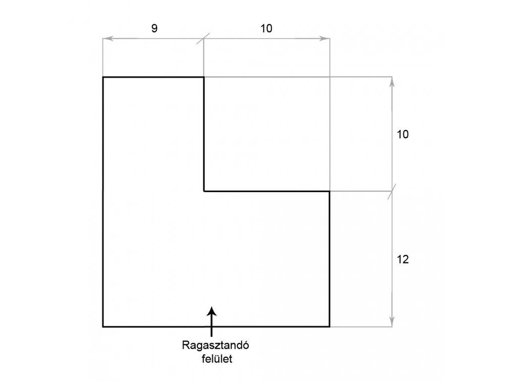 Gumový mantinel na snookerový a gulečníkový stôl