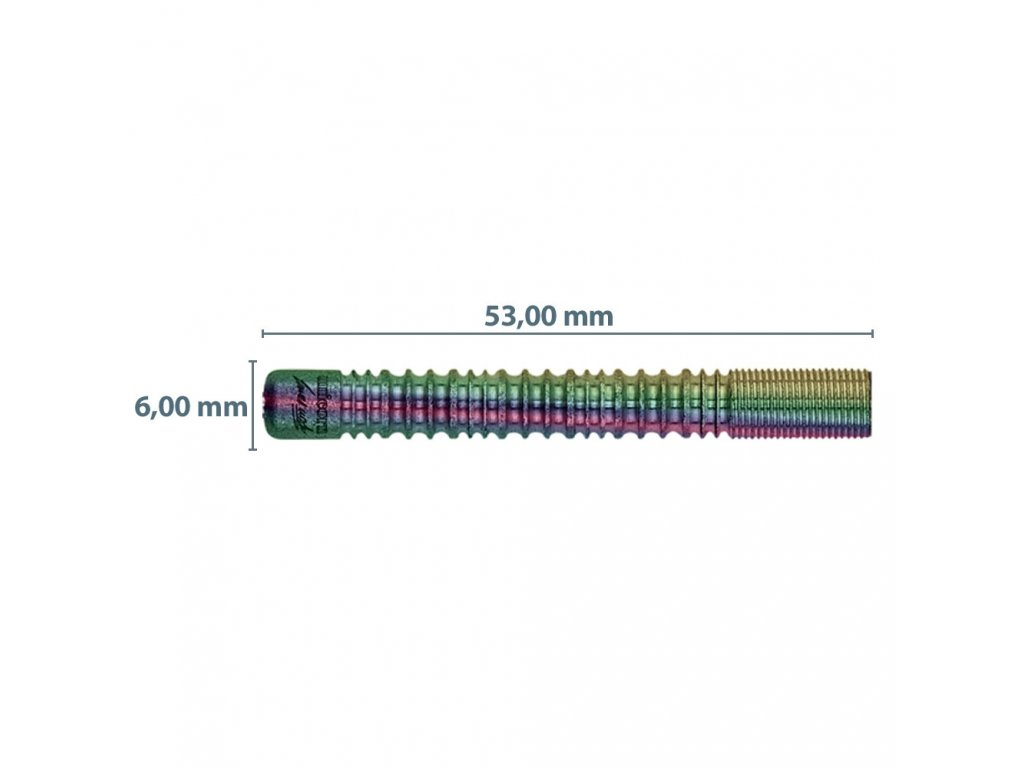 Šípky Unicorn steel Purist PDL J. Wade 20g, DNA, 90% wolfram
