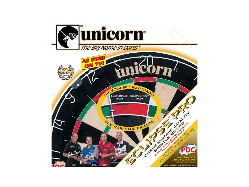 Sisalový terč Unicorn Eclipse Pro, turnajová kvalita