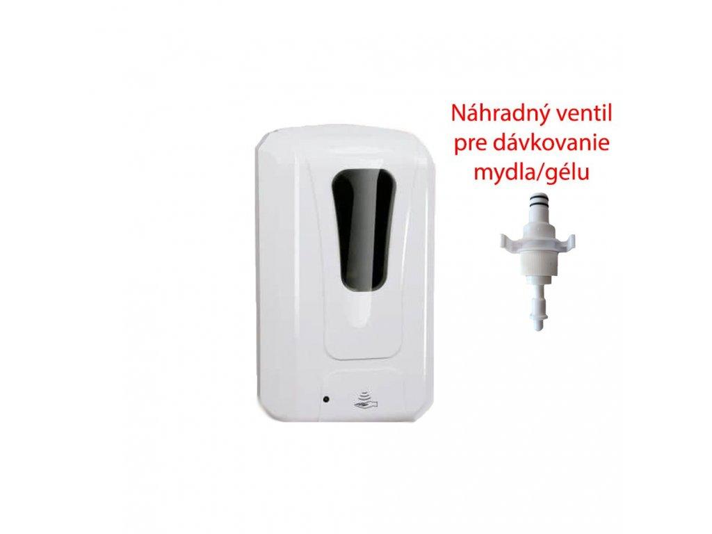 Securia Pro Bezdotykový dávkovač Covida 1 (roztok/mydlo/gél)  + náhradný ventil zdarma