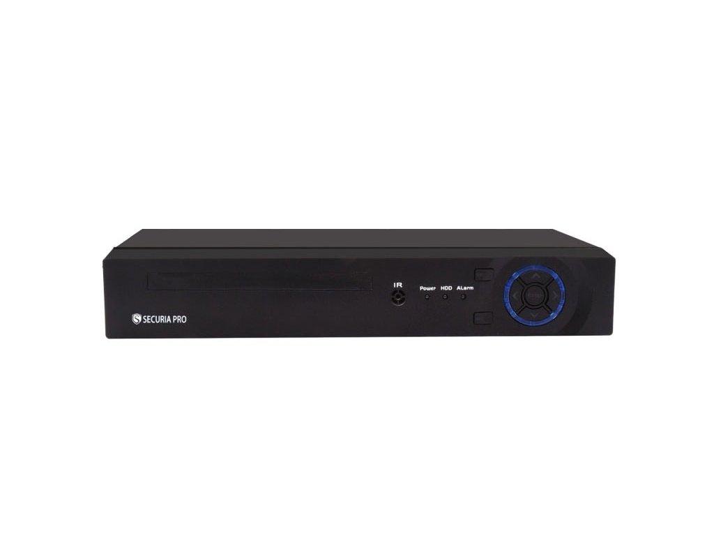 Securia Pro NVR box 8MP 4CH N6904HE-4K