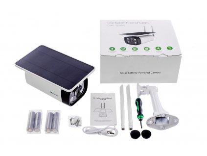 Securia Pro IP 2MP Solar 4G kamera N693W-200W-4G