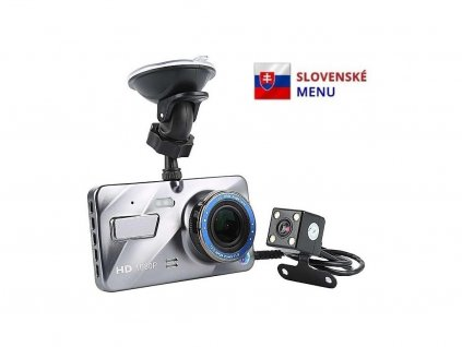Atomia A10D Full HD autokamera so zadnou kamerou
