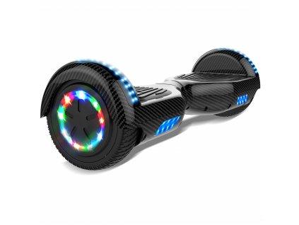 "Aboard hoverboard 6,5"" Karbon Bluetooth  + Chrániče zdarma"