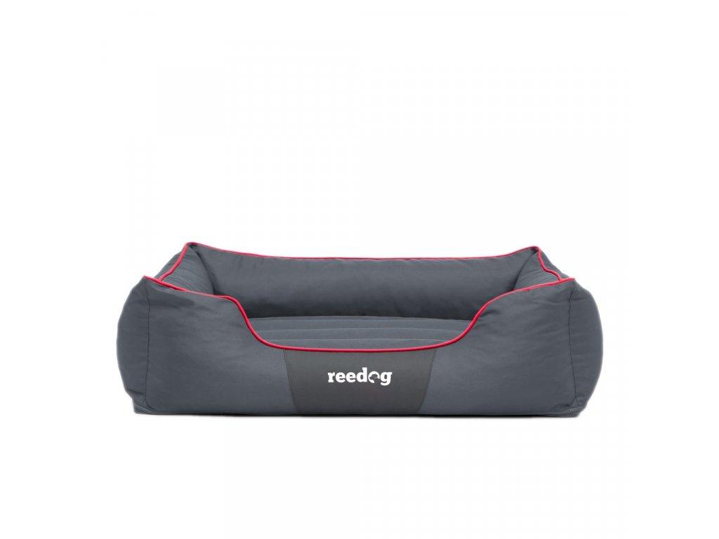Pelíšek pro psa Reedog Comfy Grey & Red