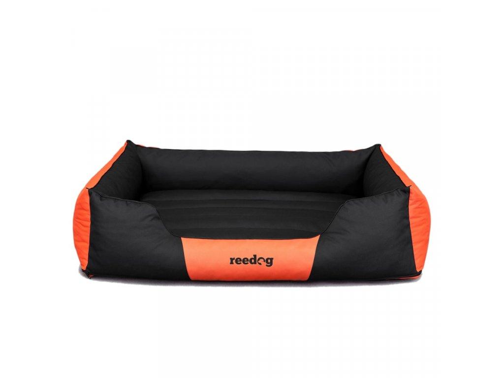 Pelíšek pro psa Reedog Comfy Black & Orange