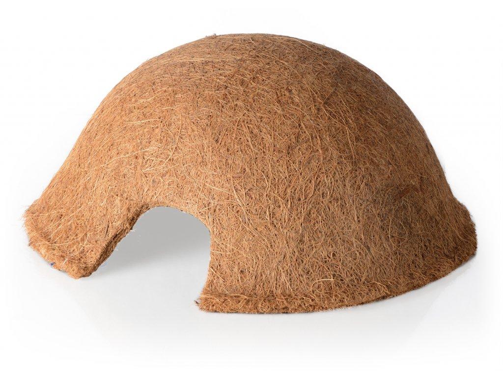 Úkryt pro plazy z kokos.vlákna, 32x32x14 cm