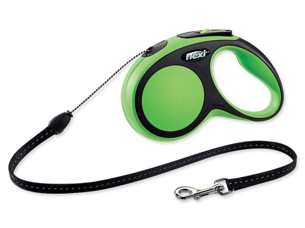 Vodítko FLEXI Comfort New lanko zelené S - 5 m/12 kg
