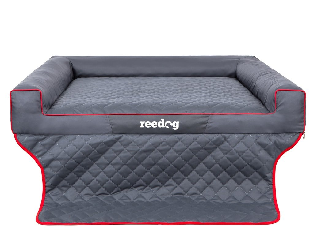 Dog bed with cover Reedog Cover Grey