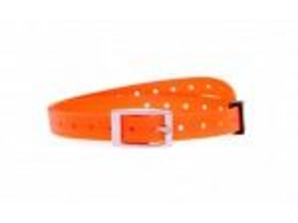 Plastový obojek oranžový 15 mm x 50 cm