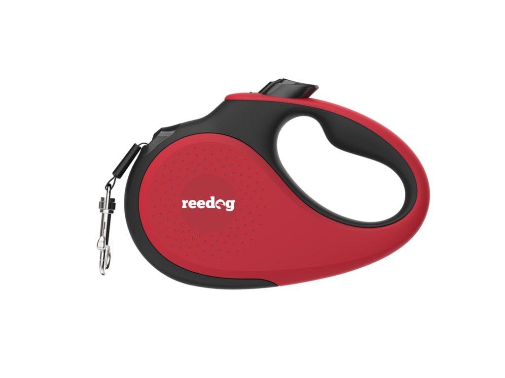 Reedog Senza Premium samonavíjecí vodítko XS 12kg / 3m páska / červené