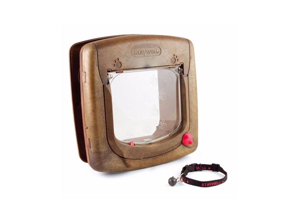 Dvířka Staywell 420 design dřeva s magnetem