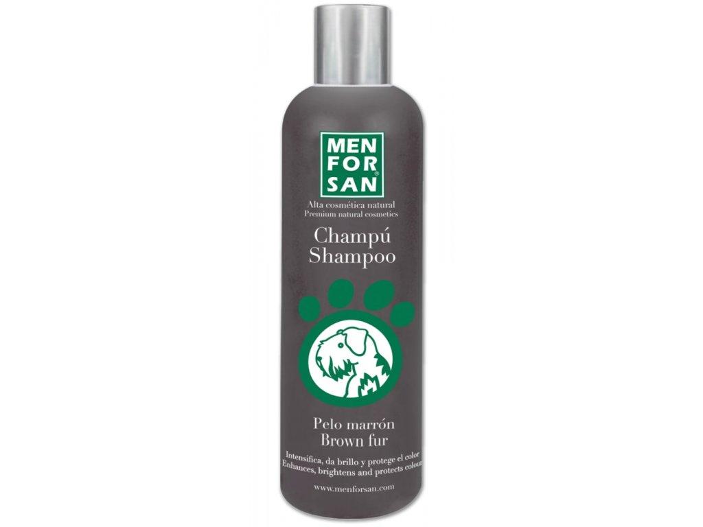 Menforsan přírodní šampon zvýrazňující hnědou barvu 300ml
