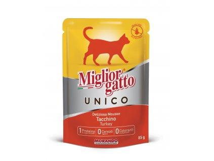 Mig.Unico kapsička krůtí 85g - kočka