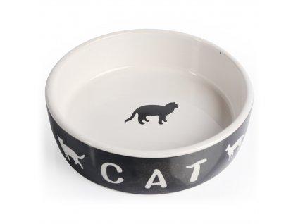 Miska porcelánová kočka 13,5 cm