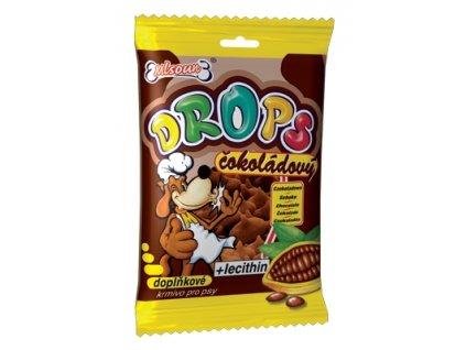 Mlsoun Drops čokoláda, 75g