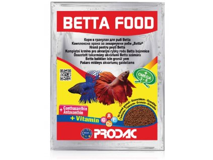 Prodac Betta Food, 12g/sáček
