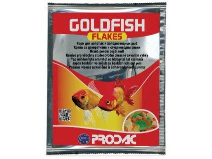 Prodac Goldfish Flakes, 12 g/sáček