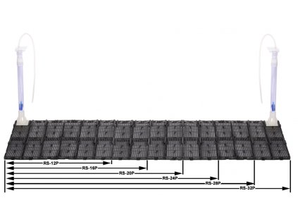 04907 Půdní filtr RS-20P, 70x28,5cm, 1 výstup