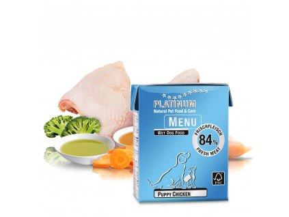 Platinum Natural Menu Puppy Chicken 375 g