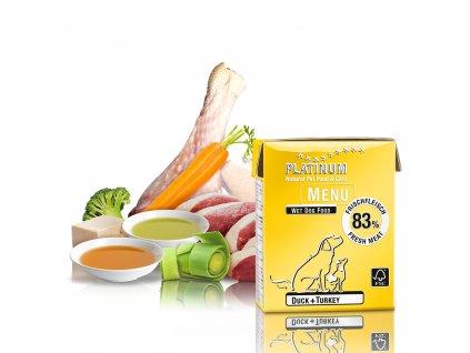 Platinum Natural Menu Duck + Turkey 375 g