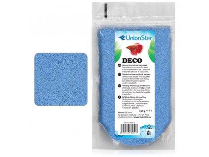 Betta akvarijní písek DECO sv.modrý 1 - 1,5mm, 240g