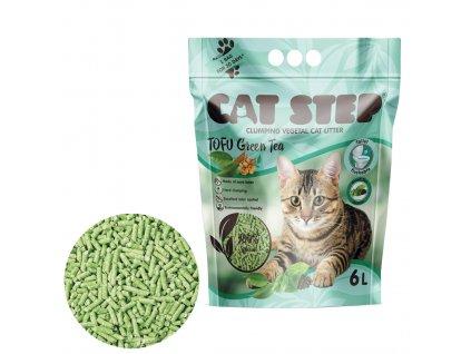 Cat Step Tofu Green Tea 2,7kg