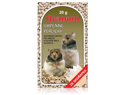Granum vápenné perličky pro hlodavce, 20g