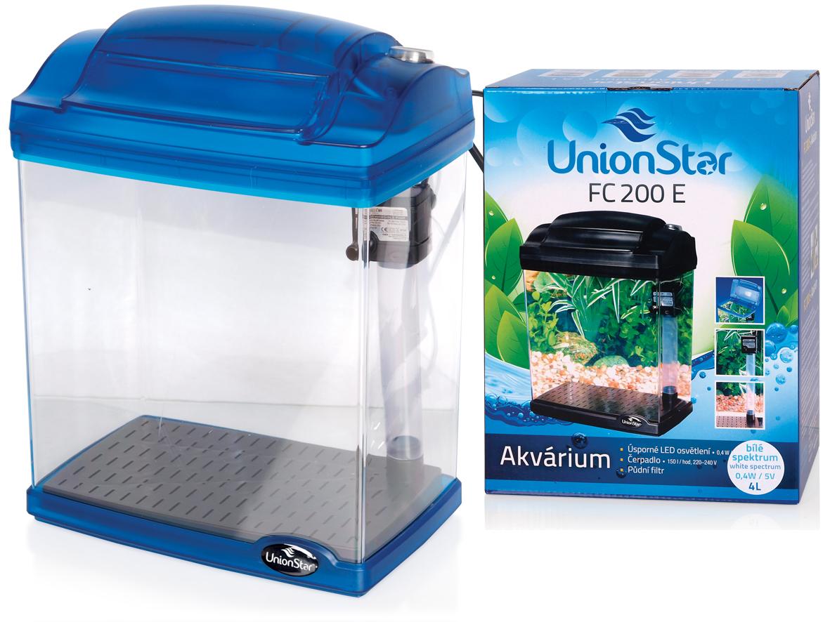 UnionStar LED akvarijní komplet FC200E modrý