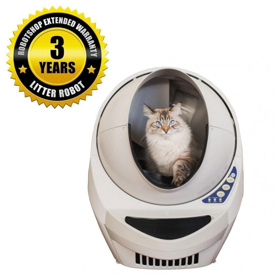 Litter-Robot III automatický samočisticí záchod pro kočky s prodlouženou zárukou