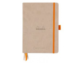 Zápisník RHODIA Goalbook tvrdé desky bílý papír
