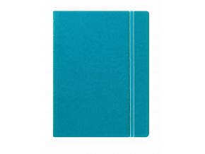 115012 Filofax Notebook A5 Aqua w