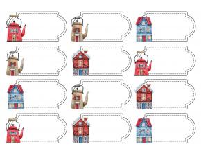 štítky domečky eshop fotka